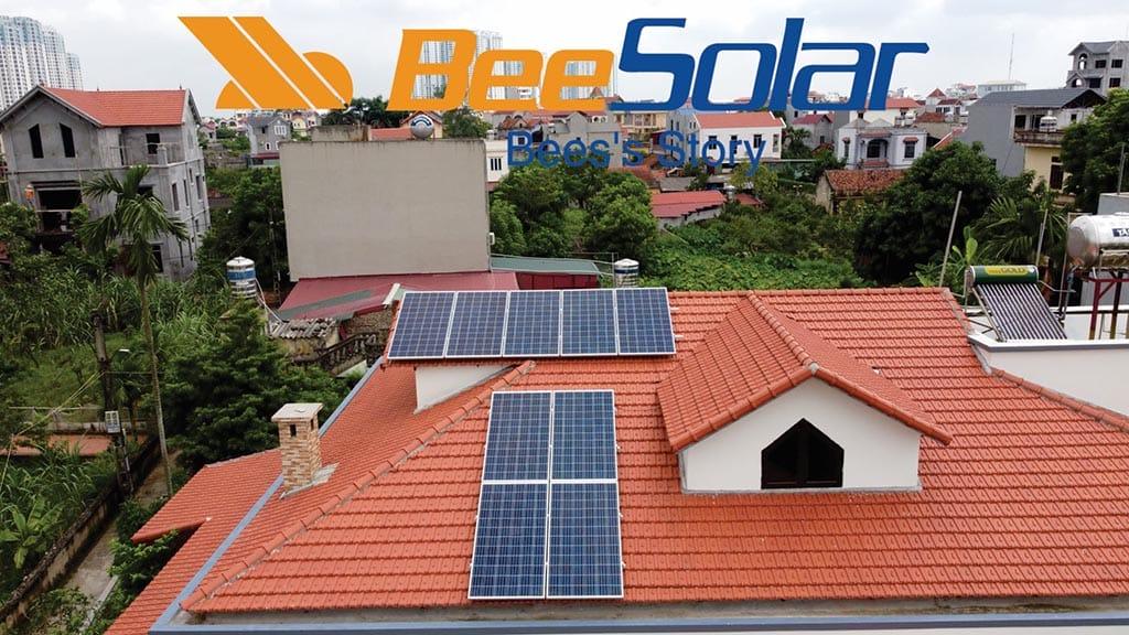 Hệ thống điện mặt trời áp mái 3kwh